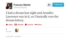winning the dream lottery