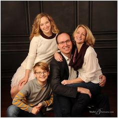 Natural Family Portraits In The Studio B