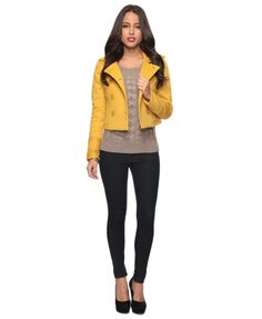 Forever 21 Outfit cute jacket with a scarf.