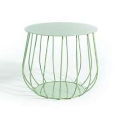 RESÖ Side Table, Straight Bars