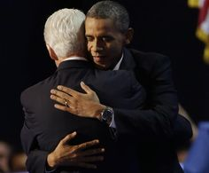 President Barack Obama and President Bill Clinton at Democratic Convention, 2012. I love you both!