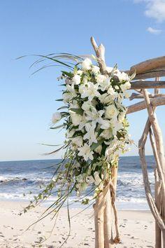 Lovely beachwood arbor
