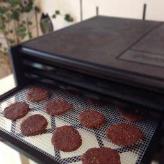 パリッと美味しいRawクッキー。 アイハーブで買ったゴマクッキーが美味しくて、おうちでもマネしてみました(^_−)−☆  オーブンで焼かず、ディハイドレーター(食品乾燥機)で乾燥させて作るんですよ。  レシピは後ほどブログにUPします♡ - 21件のもぐもぐ - 焼かないゴマクッキー by HappyRawFood
