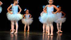 kaylane na apresentação de balé