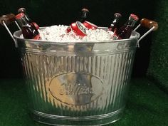 Ole Miss Tailgating Tub by Tailgategoodsdotcom on Etsy, $30.00