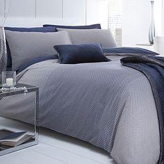Navy 'Dotty' bed linen - Duvet covers & pillow cases - Bedding - Home & furniture -