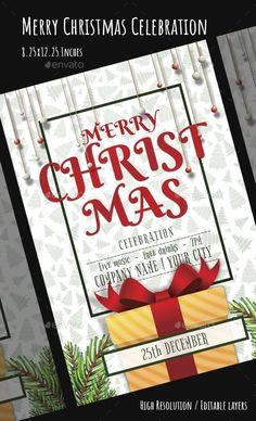 Buy Christmas Flyer by VyamPixels on GraphicRiver.