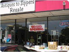 Resale shops