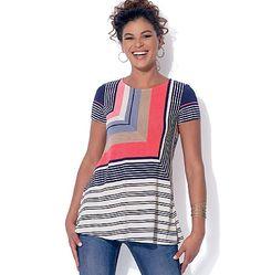 KOOT: 32 - 52. McCALL´s kaava M7323: trikoo paidat ja tunikat. Trendikkäät yläosat, helppo kaava. Sopii arkeen ja juhlaan.