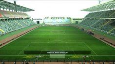 Estadio Euganeo de la ciudad de Padua y casa del Padova. Abierto en 1994, alberga 32.000 personas.