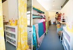 kelly klatt's photography  studio - I need a way to organize my many chairs!