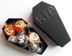 Coffin box template in many formats for #Halloween favors. Fun Favors http://www.pinterest.com/wineinajug/fun-favors/