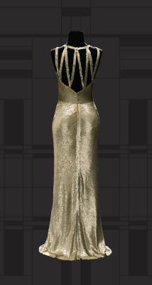 1930-1931 Chanelevening dress via Museum of Costume and Lace.