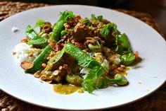 Les curry thaïlandais : recettes, conseils, préparation et ingrédients ! Curry Vert, Dhal, Kung Pao Chicken, Risotto, Salad Recipes, Nom Nom, Beef, Ethnic Recipes, Midi