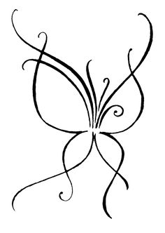 My Butterfly by majann on DeviantArt Butterfly Tattoo Designs, Butterfly Art, Simple Butterfly Drawing, Butterflies, Peacock Drawing, Body Art Tattoos, Small Tattoos, Tatoos, Love Tatuaje
