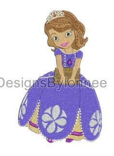 Sofia Holding a Book Embroidery Design 2 Sizes  Available in  5x7 and 6x10 Hoops  Please do not redistribute these files  The following formats are available TO CHOOSE  from: DST,EXP,HUS,JEF,PES,VIP,VP3,XXX  If NO format is selected at Time of purchase the default (PES) format with be se...