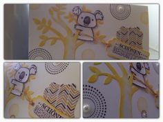 Koala card Stampin' Up!