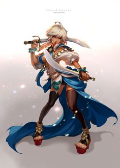 sword dancer by ~Nawol on deviantART