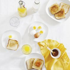 Buongiorno! yellow breakfast, yellow day