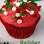 Chocolate Holiday Cupcakes. Have some fun with your cupcakes and sweet treats with this Chocolate holiday cupcake recipe.