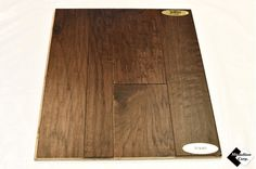 "3/8"" Multi-Width Engineered Distressed Hickory Buckskin Hardwood Flooring"