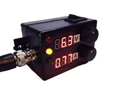 """Maybe an interesting project. Not so much a power supply as a regular and meter. """"Mini adjustable power supply"""""""