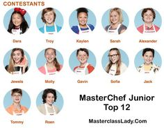 20 Master Chef Jr Ideas Masterchef Junior Masterchef Junior