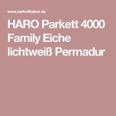 HARO Parkett 4000 Family Eiche lichtweiß Permadur