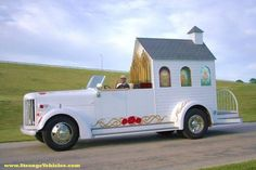STRANGE MOBILE CHURCH TRUCK - PORTABLE MARRIAGE SERVICES