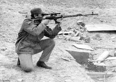 Soviet Snipers during war in Afghanistan