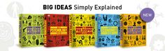 DK's Big Ideas, Simply Explained titles bring life to subjects often regarded as esoteric and academic with a vibrant design, innovative graphics and creative use of typography, to help demystify hard-to-grasp concepts.  Perfect for students or anyone with a general interest in a range of topics from economics to psychology.