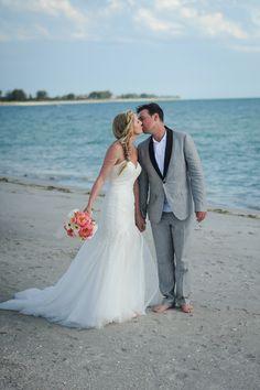 South Seas Island Resort Wedding Ceremony   Captiva Isalnd   Brandon McNabb Photography #beachwedding