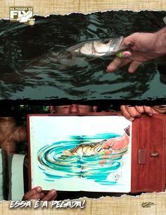 NA PEGADA DO FLY: 5ª TEMPORADA - EPISÓDIO 17 DIA DE ROBALOS NO FLY NA BAÍA DE PARANAGUÁ  Na companhia de Thiago Zanetti, Kid Ocelos vai até o estado do Paraná para fazer a pescaria deste episódio de Na Pegada do Fly. Embarcados, eles vão em busca do robalo na Baía de Paranaguá. Lá, vão fisgar belos pevas e flechas.  Confira o episódio aqui: http://fii.sh/FlyRobalosBaiaParanagua