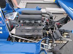 Tyrrell Six Wheeler Ford Racing Engines, Race Engines, F1 Racing, Motor Engine, Car Engine, Road Race Car, Race Cars, Slot Car Tracks, Formula 1 Car