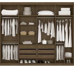 10 Walk in Closet Ideas For Your Master Bedroom Wardrobe Design Bedroom, Wardrobe Storage, Bedroom Wardrobe, Closet Storage, Bedroom Storage, Closet Walk-in, Closet Space, Closet Ideas, Walk In Closet Design