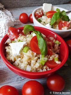 Fogalmam sincs készítenek-e a görögök ilyen bulgursalátát, de nekem a görög saláta ízvilágát idézi, ezért görögös. Egyszerűen elkészíthető, sőt, ha...