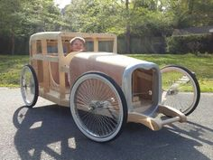 Soapbox racer is finally on the ground