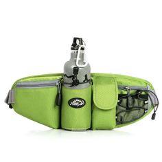 Sports Waist Bag Men & Women Pack Outdoor Water Bottle Belt