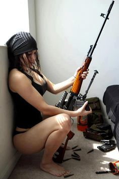 Get a glance at this beautiful . . . sniper rifle!