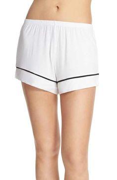 Barefoot Dreams® 'Luxe Milk' Jersey Lounge Shorts
