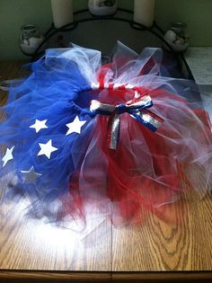 4th of July tutu…Sarah…yes, this one is for you!:)