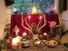cousinnick:    Litha Altar for 2012