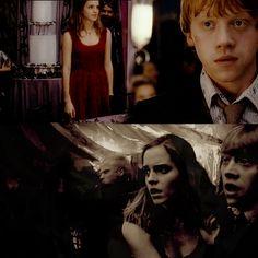 hermione granger and ron weasley fan art   Fan Art - ronald-weasley Fan Art