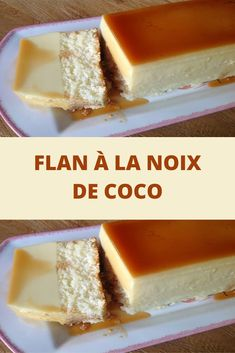 Coconut Flan - Recettes Astuces - Healt and fitness Chocolate Cheesecake Recipes, Easy Cheesecake Recipes, Chocolate Desserts, Sheet Cake Recipes, Dump Cake Recipes, Creative Desserts, Easy Desserts, Lemon Desserts, Coconut Flan