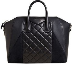 Givenchy Women's Large Quilted Antigona Bag