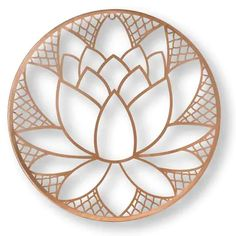 Graham & Brown H x W Botanical Metal Wall Sculpture at Lowe's. The lotus blossom is a symbol of purity and patience. For this graceful metal art the beautiful blossom is the center of the design completed in a Metal Wall Sculpture, Wall Sculptures, Metal Wall Art, Framed Wall Art, Wood Art, Wall Décor, Tree Wall, Sculpture Art, Feather Wall Decor