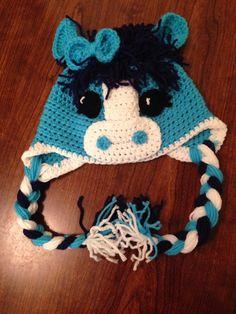 Little Pony Horse Hat Child Crochet Hat Baby Crochet Hat on Etsy, $25.00