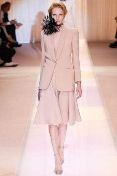 Armani Privé Fall 2013 Couture Collection Slideshow on Style.com