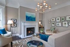 New Living Room Paint Inspiration Revere Pewter Ideas Interior Paint Colors For Living Room, Bathroom Paint Colors, Living Room Paint, Living Room Colors, Bedroom Colors, Living Room Decor, Paint Colours, Bathroom Grey, Bedroom Ideas
