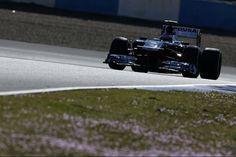 Jerez Track ..... williams testing